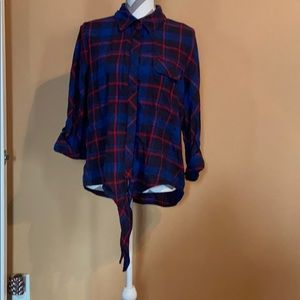Canyon River Blues flannel button up
